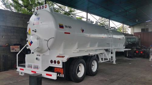 semirremolques tanques vacuum para 160 bls y 238 bls