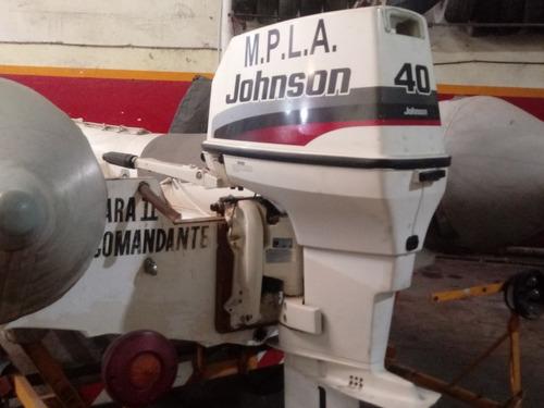semirrido 420 con motor jhonson 40