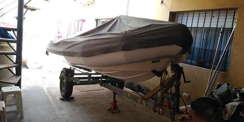semirrígido 4.30 suzuki 40 hp
