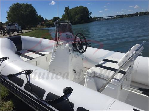 semirrigido 4.60 mts motor mercury 4 tiempos ideal lagos 0km