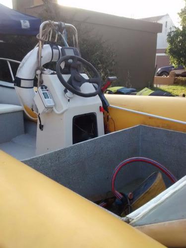 semirrigido 4.60 pontones nuevos yamaha 40 trailer nuevo