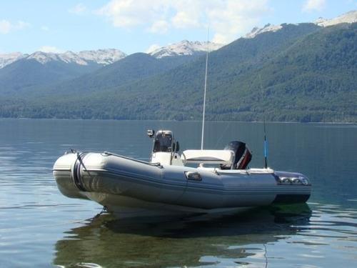 semirrigido 4.80 con motor 40 hp elpto - astillero tozzoli