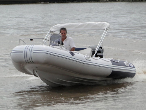 semirrigido 4.80 con motor 60 hp - astillero tozzoli