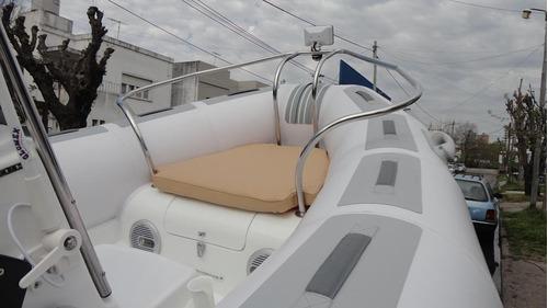 semirrigido 4.80 listo para navegar - astillero tozzoli