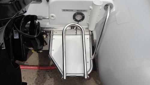 semirrigido 4.80 mts con 50 hp 2 tiempos - astillero tozzoli