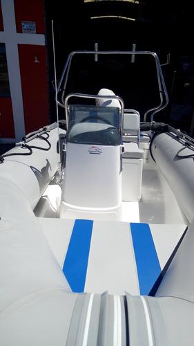 semirrigido 490  completo con motor evinrude etec 50 hp 2020