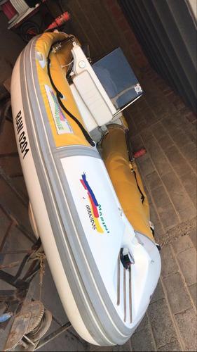 semirrigido 4.90 deltamarine motor yamaha 60 2t