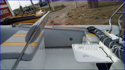 semirrigido 510 kiel nuevo equipado mercury 4 tiempos inyecc