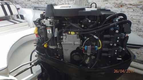 semirrigido 5.20 mts motor mercuri 60 hp 4t viking - edunor