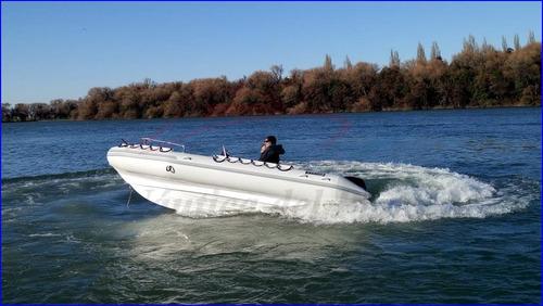 semirrigido 520 viking con motor 4 t 60 hp mercury ecologico
