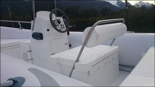 semirrigido 560 kiel nuevo equipado con motor ecologico 90hp