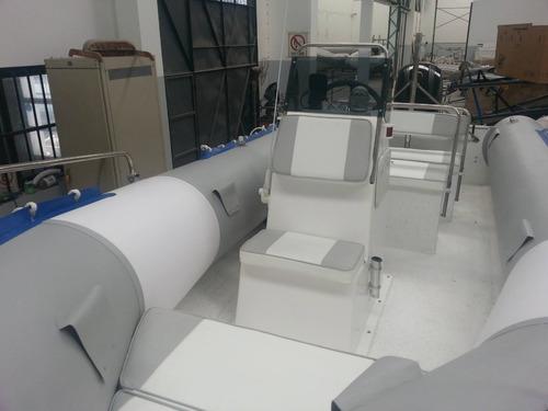 semirrigido 6.20 mts muy amplio con 150 hp mercury 4 tiempos