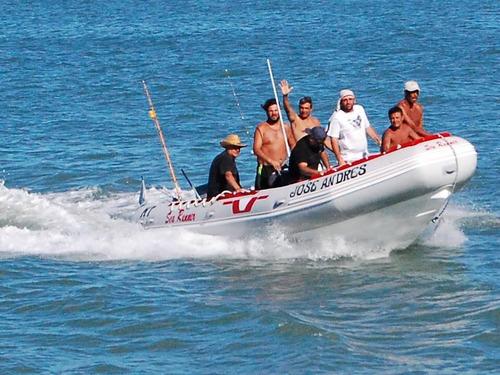 semirrigido 6.20 mts sea runner suzuki 140 hp 4 tiempos 2020