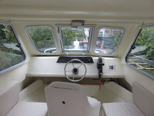 semirrigido 6.90m baader semitrack cabinado 6.90