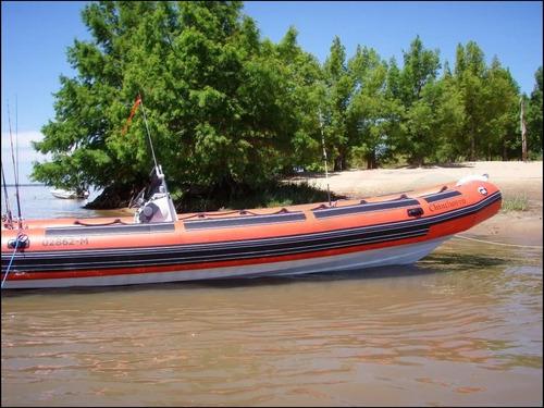 semirrigido 8 mt ideal trabajo avistaje turismo muy marinero