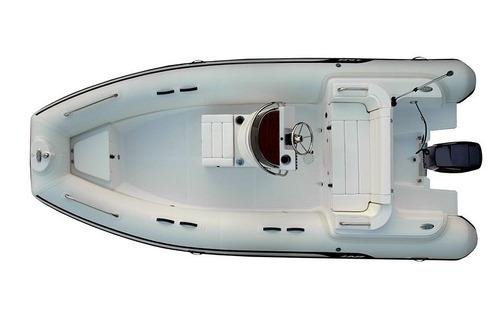 semirrigido ab 17 vst oceanus - 5.20 m - hypalon - yamaha 90
