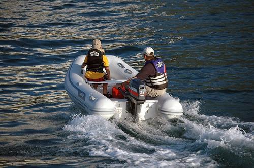 semirrigido ab 9 vs - 2.90 m - dinghy tender - hypalon