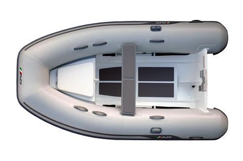 semirrigido ab 9.5 al - 2.90 m - casco de aluminio - hypalon