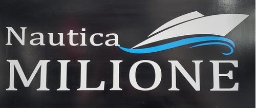 semirrigido albatros 5 mts. 2020 nautica milione 8