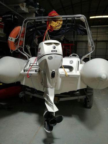semirrigido autonautica con etec 60