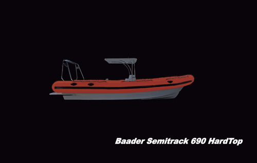 semirrigido  baader semitrack 6.90 2020 0hs work