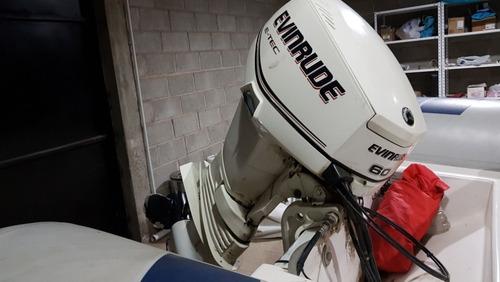 semirrigido bahamas,con evinrude 60 hp e-tec  - neuquen