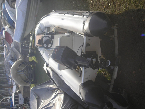 semirrigido bim 450 con motor mercury 60 hp 2 tiempo,con