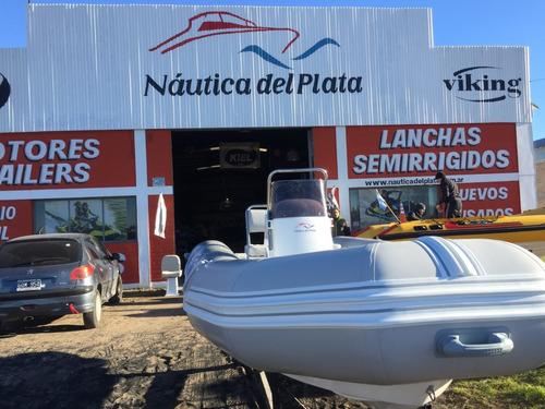 semirrigido bote gomon kiel 460 pescador equipado 2020 0 hs
