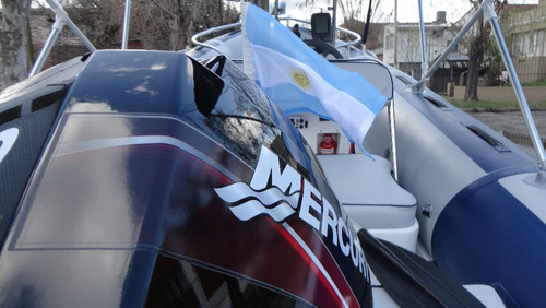 semirrigido con 60 hp 2 tiempos - astillero tozzoli