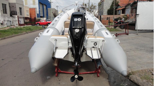 semirrigido con motor 60 hp elpto - astillero tozzoli