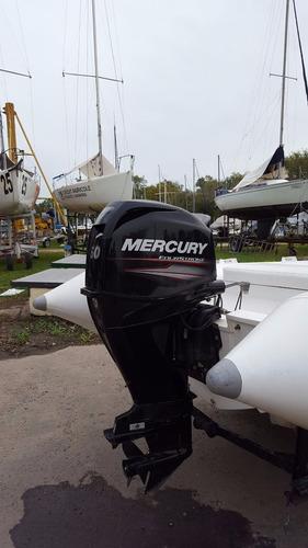 semirrígido corum 550 (callegari)  mercury 60 4 tiempos 2015