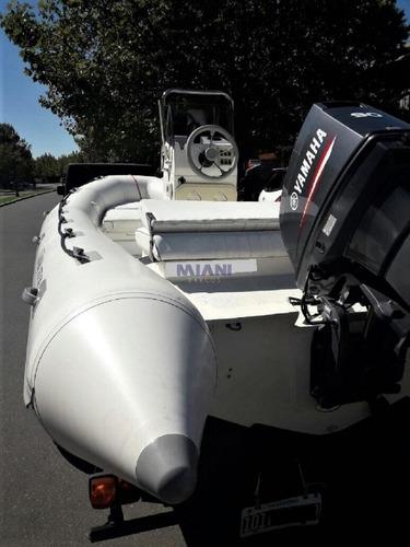 semirrigido corum 5.50* yamaha 90hp* trailer rutero