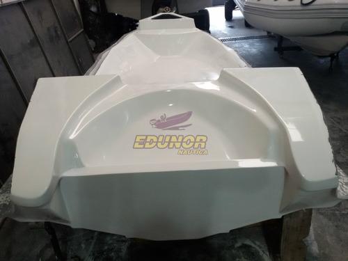 semirrigido edunor 600 mercury 90 4t - calidad premium