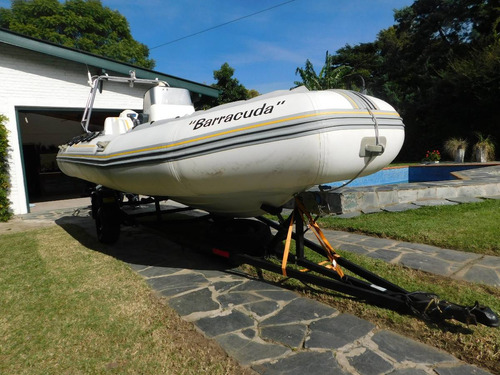 semirrigido evinrude 60hp/equipado/trailer/permuto/nuevoo