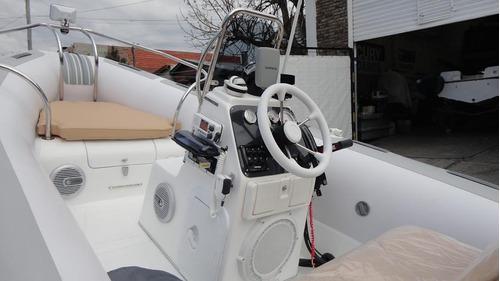 semirrigido full con motor 40 hp - astillero tozzoli