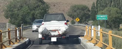 semirrígido kiel 360 con trailer sin motor