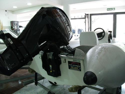 semirrigido kiel 4,60 con mercury 40 hp 4 tiempos matrizado