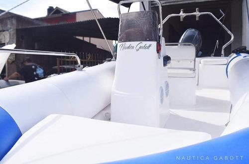 semirrigido kiel 5 metros con motor yamaha 70hp 2t