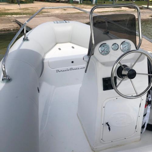 semirrigido kiel 500 matrizado + motor mercury 50 hp 4t efi