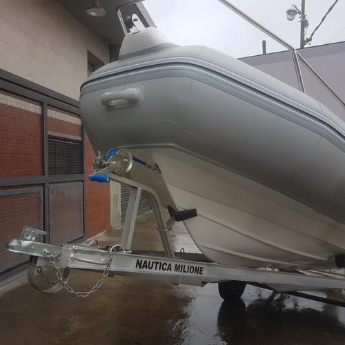 semirrigido kiel 500 nuevo promocion stock nautica milione