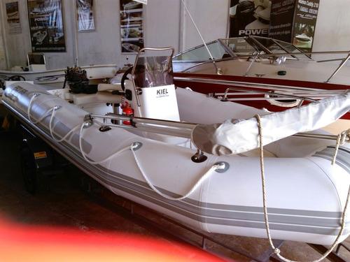 semirrígido kiel 560 full. náutica garrido