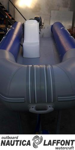 semirrigido kiel 560 motor yamaha 40hp eléctrico a estrenar!