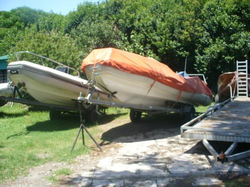 semirrigido kiel 790 matrizado pesca y deportes