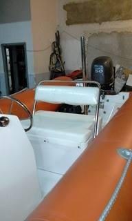 semirrigido kiel de 4.60 mts con motor yamaha 50 hp- 20h uso