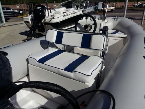 semirrigido nyc 470 // yamaha 40 2t xwtl power trim sarthou