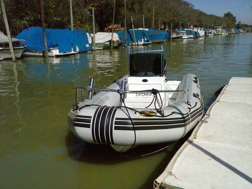 semirrígido olympic marine 2009 con mercury 2t 90 hp