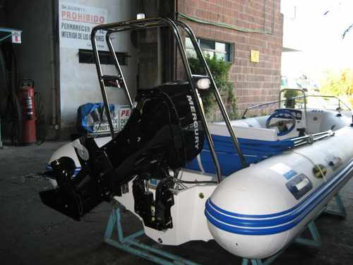 semirrigido olympic marine 460 2017 nuevo sin motor