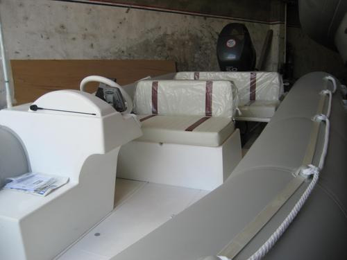 semirrigido olympic marine 535 2020 nuevo sin motor