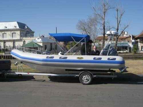 semirrigido olympic marine 560 2020 nuevo sin motor