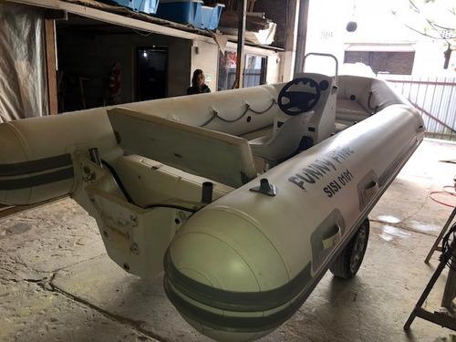 semirrigido olympic marine sr430 buen estado sin motor